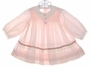 "<img src=""https://p11.secure.hostingprod.com/@grammies-attic.com/ssl/images/blue-sold-1.gif""> Polly Flinders Pink Dress with White Eyelet Collar and Embroidered Ribbon Trim"