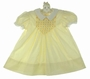 "<img src=""https://p11.secure.hostingprod.com/@grammies-attic.com/ssl/images/blue-sold-1.gif""> Polly Flinders Yellow Smocked Dress with White Collar and Eyelet Trimmed Sleeves"