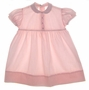 "<img src=""https://p11.secure.hostingprod.com/@grammies-attic.com/ssl/images/blue-sold-1.gif""> Polly Flinders Pink Toddler Dress with Lace Edged Collar and Pink Embroidered Flowers"