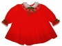 "<img src=""https://p11.secure.hostingprod.com/@grammies-attic.com/ssl/images/blue-sold-1.gif""> Polly Flinders Red Bishop Smocked Toddler Dress with White Eyelet Trimmed Collar"