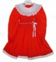 "<img src=""https://p11.secure.hostingprod.com/@grammies-attic.com/ssl/images/blue-sold-1.gif""> Polly Flinders Red Smocked Little Girls Dress with White Eyelet Portrait Collar"