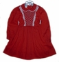 "<img src=""https://p11.secure.hostingprod.com/@grammies-attic.com/ssl/images/blue-sold-1.gif""> Polly Flinders Dark Red Smocked Little Girls Dress with White Lace Trim"