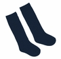 NEW Navy Blue Nylon Knee Socks