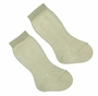 NEW Carlino Ivory Cotton Knee Socks