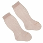 NEW Carlino Pink Cotton Knee Socks