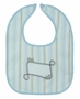 "<img src=""https://p11.secure.hostingprod.com/@grammies-attic.com/ssl/images/blue-sold-1.gif""> NEW Personalized Train Bib for Baby Boys"