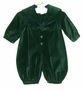 "<img src=""https://p11.secure.hostingprod.com/@grammies-attic.com/ssl/images/blue-sold-1.gif""> NEW Sophie Dess Green Velvet Sailor Romper"