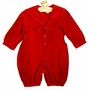 "<img src=""https://p11.secure.hostingprod.com/@grammies-attic.com/ssl/images/blue-sold-1.gif""> NEW Sophie Dess Red Velvet Sailor Romper"