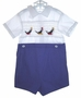 "<img src=""https://p11.secure.hostingprod.com/@grammies-attic.com/ssl/images/blue-sold-1.gif""> Paul E. Flinders Smocked Shortall with Seals Embroidery"