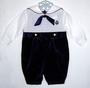 "<img src=""https://p11.secure.hostingprod.com/@grammies-attic.com/ssl/images/blue-sold-1.gif""> Good Lad Navy Velvet Baby Sailor Suit with White Shirt"