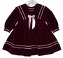"<img src=""https://p11.secure.hostingprod.com/@grammies-attic.com/ssl/images/blue-sold-1.gif""> Burgundy Velvet Sailor Dress with Braid Trim and Satin Ribbon"