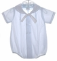 "<img src=""https://p11.secure.hostingprod.com/@grammies-attic.com/ssl/images/blue-sold-1.gif""> Petit Ami Pale Blue Sailor Romper with Fagoted Collar"