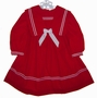 "<img src=""https://p11.secure.hostingprod.com/@grammies-attic.com/ssl/images/blue-sold-1.gif""> Red Velvet Sailor Dress with White Trim for Babies, Toddlers, and Little Girls"