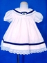 "<img src=""https://p11.secure.hostingprod.com/@grammies-attic.com/ssl/images/blue-sold-1.gif""> Good Lad White Sailor Dress with Anchor Insignia for Baby Girls"