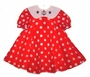 "<img src=""https://p11.secure.hostingprod.com/@grammies-attic.com/ssl/images/blue-sold-1.gif""> Bonnie Jean Shirley Temple Style Red Polkadot Sailor Dress"
