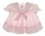"<img src=""https://p11.secure.hostingprod.com/@grammies-attic.com/ssl/images/blue-sold-1.gif""> Bryan Pink Striped Sailor Dress with Eyelet Trim"