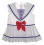 "<img src=""https://p11.secure.hostingprod.com/@grammies-attic.com/ssl/images/blue-sold-1.gif""> White Pleated Sleeveless Toddler Sailor Dress with Blue Striped Insert"