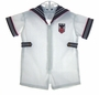 "<img src=""https://p11.secure.hostingprod.com/@grammies-attic.com/ssl/images/blue-sold-1.gif""> NEW White Sailor Suit with Navy Collar and Front Zipper"
