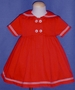 "<img src=""https://p11.secure.hostingprod.com/@grammies-attic.com/ssl/images/blue-sold-1.gif""> Bonnie Jean Red Sailor Dress Size 2T"