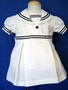 "<img src=""https://p11.secure.hostingprod.com/@grammies-attic.com/ssl/images/blue-sold-1.gif""> Vintage 1940s White Linen Pleated Sailor Dress"