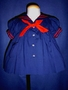 "<img src=""https://p11.secure.hostingprod.com/@grammies-attic.com/ssl/images/blue-sold-1.gif""> C. I. Castro Navy Blue Classic Sailor Dress with Red Tie"