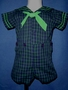 "<img src=""https://p11.secure.hostingprod.com/@grammies-attic.com/ssl/images/blue-sold-1.gif""> New Boy's C. I. Castro Navy & Green Plaid Button on Sailor Suit"