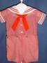 "<img src=""https://p11.secure.hostingprod.com/@grammies-attic.com/ssl/images/blue-sold-1.gif""> C. I. Castro Classic Baby Boy's Red Checked Button On Sailor Suit"