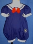 "<img src=""https://p11.secure.hostingprod.com/@grammies-attic.com/ssl/images/blue-sold-1.gif""> Glynne Percy Navy Blue Sailor Bubble with Red Bow for Baby Girls"