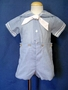 "<img src=""https://p11.secure.hostingprod.com/@grammies-attic.com/ssl/images/blue-sold-1.gif""> Boy's C. I. Castro Light Blue Checked Button On Sailor Suit"