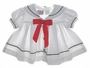 "<img src=""https://p11.secure.hostingprod.com/@grammies-attic.com/ssl/images/blue-sold-1.gif""> Classic White Somerset Lane Sailor Dress with Red Tie for Baby Girls"