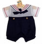 "<img src=""https://p11.secure.hostingprod.com/@grammies-attic.com/ssl/images/blue-sold-1.gif""> Little Cadet Boy's Navy and White Preemie Size Sailor Suit"