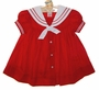 "<img src=""https://p11.secure.hostingprod.com/@grammies-attic.com/ssl/images/blue-sold-1.gif""> NEW Starting Out Red Sailor Dress with White Collar"