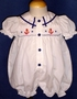 "<img src=""https://p11.secure.hostingprod.com/@grammies-attic.com/ssl/images/blue-sold-1.gif""> Sweet White Smocked Sailor Bubble with Embroidered Anchors"
