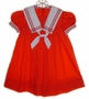 "<img src=""https://p11.secure.hostingprod.com/@grammies-attic.com/ssl/images/blue-sold-1.gif""> Jayne Copeland Red Sailor Dress with White Collar for Little Girls"