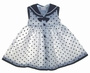 "<img src=""https://p11.secure.hostingprod.com/@grammies-attic.com/ssl/images/blue-sold-1.gif""> NEW White Sailor Dress with Navy Dots"