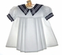 "<img src=""https://p11.secure.hostingprod.com/@grammies-attic.com/ssl/images/blue-sold-1.gif""> NEW Little Bitty Classic White Sailor Dress"