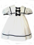 "<img src=""https://p11.secure.hostingprod.com/@grammies-attic.com/ssl/images/blue-sold-1.gif"">  Lad White Sailor Dress with Navy Bows for Toddler Girls"