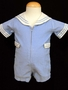 "<img src=""https://p11.secure.hostingprod.com/@grammies-attic.com/ssl/images/blue-sold-1.gif""> Boy's Light Blue Corduroy Sailor Shortall with White Collar"