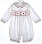 "<img src=""https://p11.secure.hostingprod.com/@grammies-attic.com/ssl/images/blue-sold-1.gif""> Rosey Kids White Smocked Baby Longall with Candy Canes Embroidery"