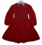 "<img src=""https://p11.secure.hostingprod.com/@grammies-attic.com/ssl/images/blue-sold-1.gif""> Petit Ami Dark Red Corduroy Smocked Toddler Dress"