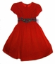 "<img src=""https://p11.secure.hostingprod.com/@grammies-attic.com/ssl/images/blue-sold-1.gif""> NEW C. I. Castro Red Taffeta Toddler Dress with Red Plaid Ties"