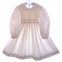 "<img src=""https://p11.secure.hostingprod.com/@grammies-attic.com/ssl/images/blue-sold-1.gif""> Sophie Dess Ivory Corduroy Smocked Little Girls Dress with Embroidered Red Rosebuds"