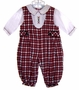 "<img src=""https://p11.secure.hostingprod.com/@grammies-attic.com/ssl/images/blue-sold-1.gif""> Petit Ami Red Plaid Baby Longall with White Shirt"