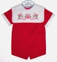 "<img src=""https://p11.secure.hostingprod.com/@grammies-attic.com/ssl/images/blue-sold-1.gif""> NEW Toddle Tyke Red Velvet Baby Shortall with Embroidered Bib Collar"