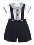 "<img src=""https://p11.secure.hostingprod.com/@grammies-attic.com/ssl/images/blue-sold-1.gif""> Baby Togs Boy's Navy Shorts Set with Embroidered Tin Soldiers"