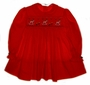 "<img src=""https://p11.secure.hostingprod.com/@grammies-attic.com/ssl/images/blue-sold-1.gif""> Red Smocked Toddler Dress with Embroidered Rocking Horses"