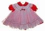 "<img src=""https://p11.secure.hostingprod.com/@grammies-attic.com/ssl/images/blue-sold-1.gif""> Baby Togs Red Dotted Dress with White Eyelet Pinafore"
