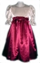 "<img src=""https://p11.secure.hostingprod.com/@grammies-attic.com/ssl/images/blue-sold-1.gif""> Ivory and Burgundy Satin Dress For Girls"