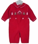 "<img src=""https://p11.secure.hostingprod.com/@grammies-attic.com/ssl/images/blue-sold-1.gif""> NEW Royal Child Red Corduroy Smocked Outfit with Holiday Embroidery"