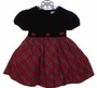 "<img src=""https://p11.secure.hostingprod.com/@grammies-attic.com/ssl/images/blue-sold-1.gif"">Bryan Black Velvet Toddler Party Dress with Red Plaid Taffeta Skirt"